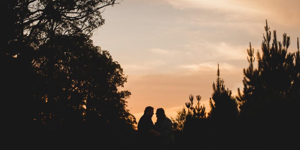 Gippsland Engagement Sunset Photography