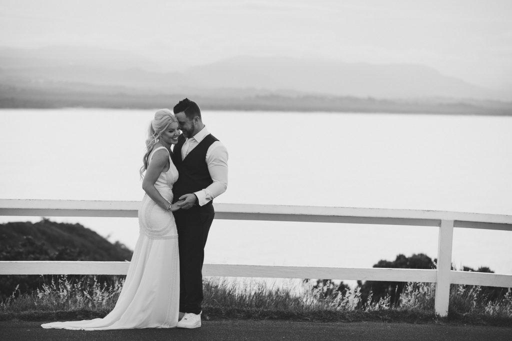 Byron Bay Lighthouse Wedding Photo, Overlooking Main Beach