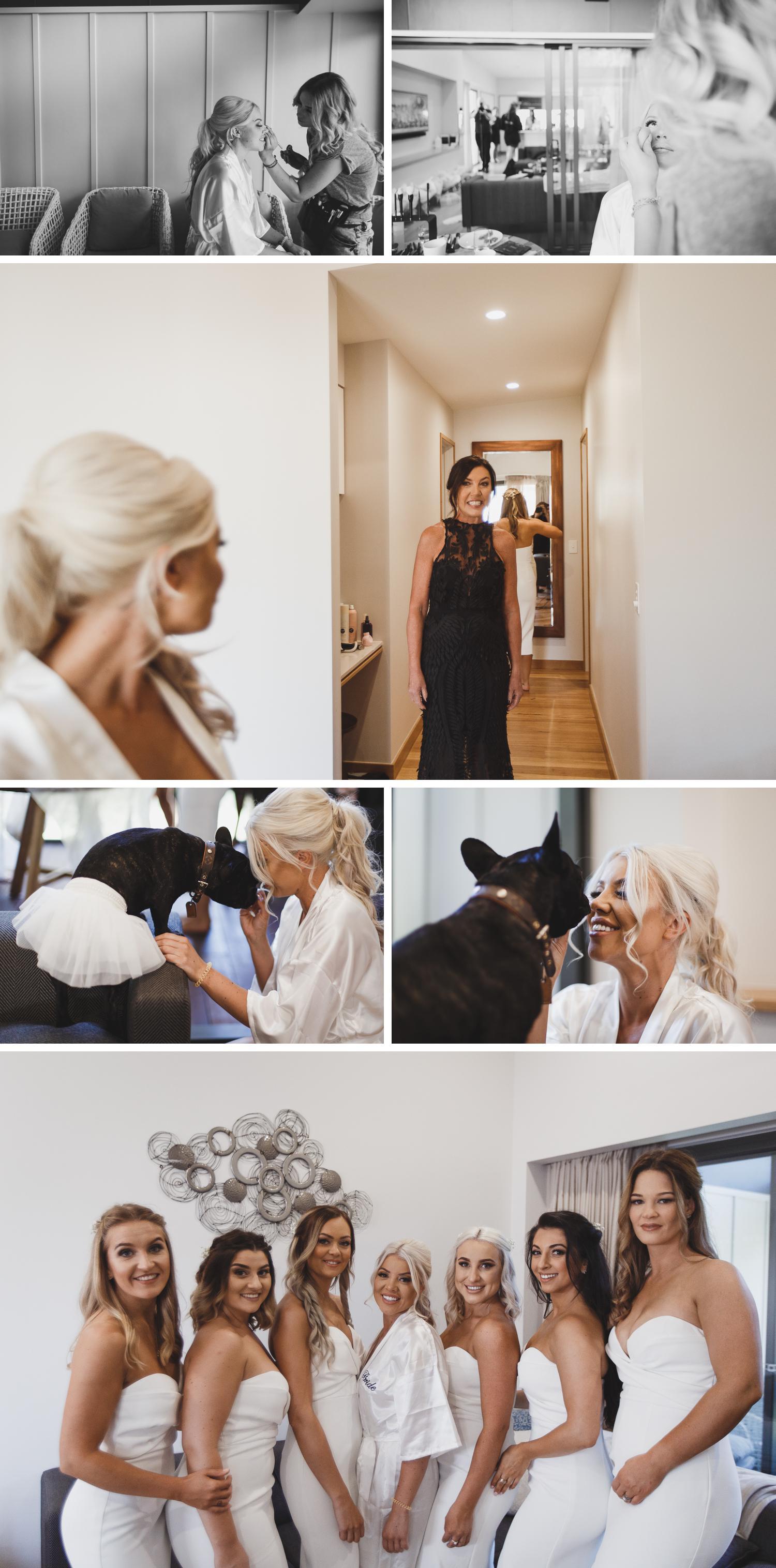 Byron Bay Victoria Wedding Photos, Byron Bay Surf Club Wedding, Bride Getting Ready Wedding Photos by Danae Studios