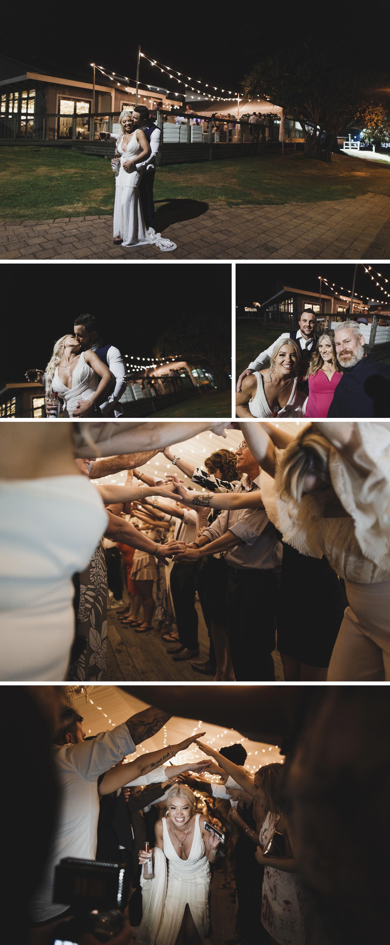 Byron Bay Victoria Wedding Photos, Byron Bay Surf Club Wedding, Byron Bay Lighthouse, Bride and Groom Dancing Wedding Photos by Danae Studios