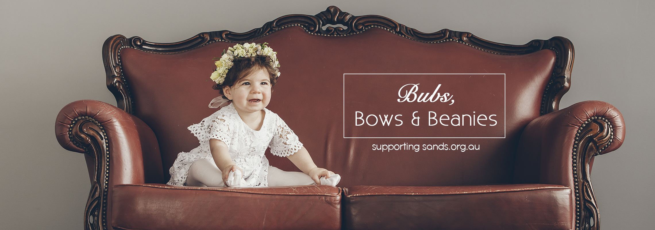 Bubs, Bows & Beanies, A Photography Project raising Funds for Sands.org.au