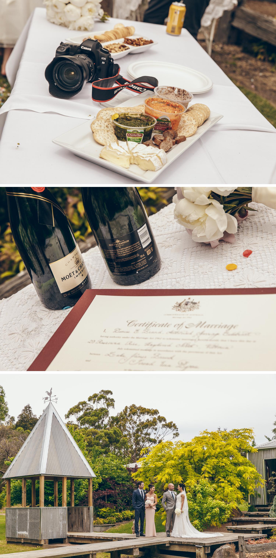 Rural Gippsland Wedding Photos, Intimate Property Wedding Photos by Danae Studios