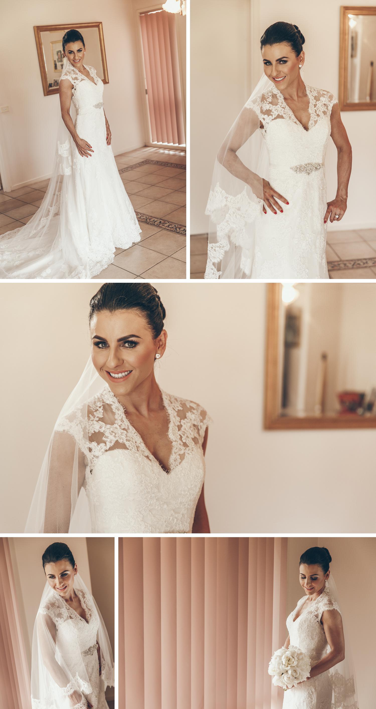 Rural Gippsland Wedding Photos, Intimate Property Wedding Photos Bride Getting Ready by Danae Studios