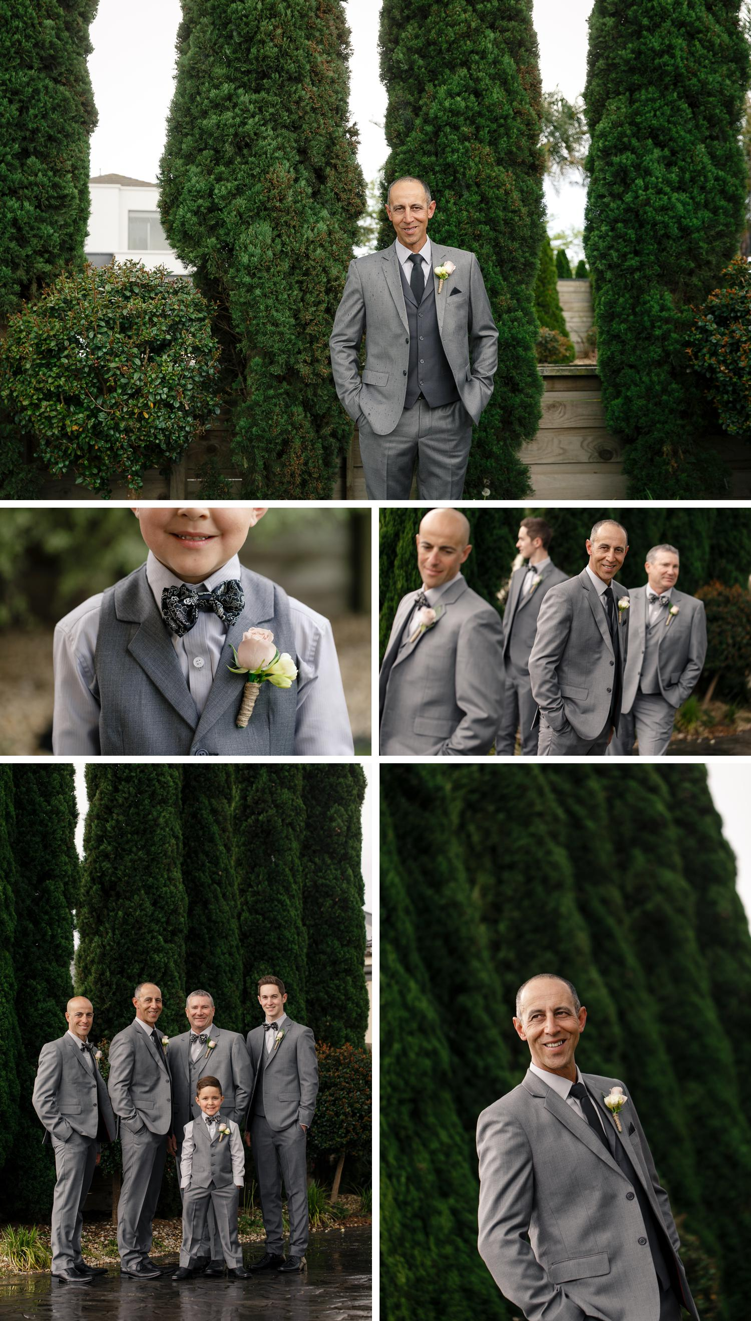 Traralgon Gippsland Wedding, Groom Getting Ready, Small Wedding Details by Danae Studios