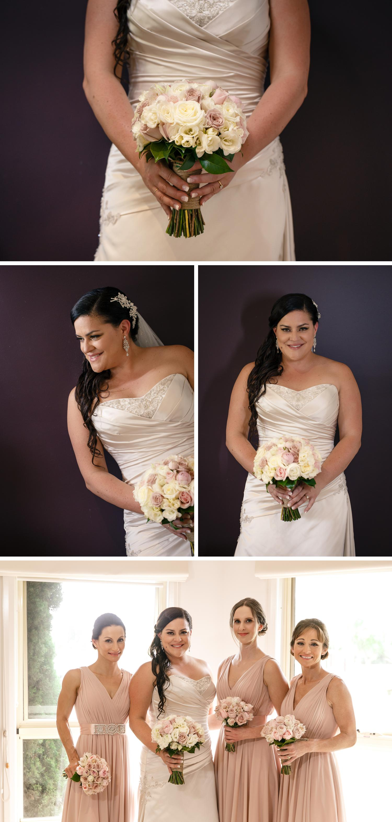 Traralgon Gippsland Wedding, Bride Getting Ready, Beautiful Wedding Dress Photo, Small Wedding Details by Danae Studios