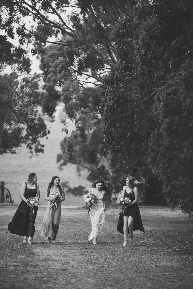 Rural Wedding Photo, Hazelwood North Gippsland Wedding by Danae Studios