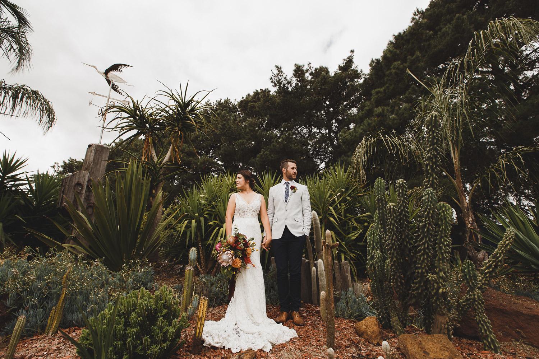 Traralgon Wedding Widows Lane, Rural Wedding Photo, Plants in Wedding, Bride and Groom Dramatic Photo by Danae Studios