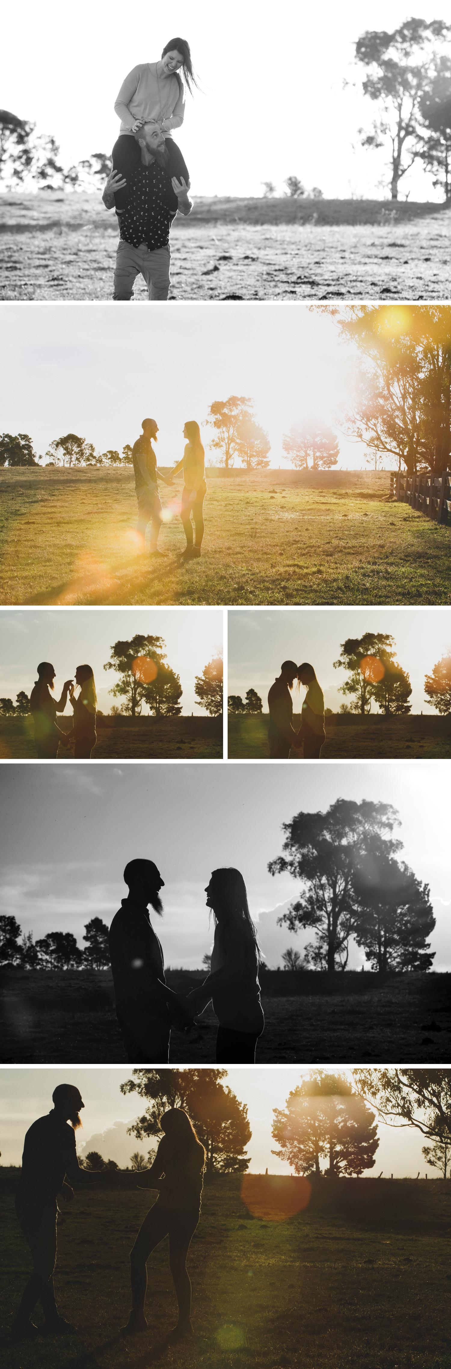 Bonnie Brae Farm Engagement Session by Danae Studios
