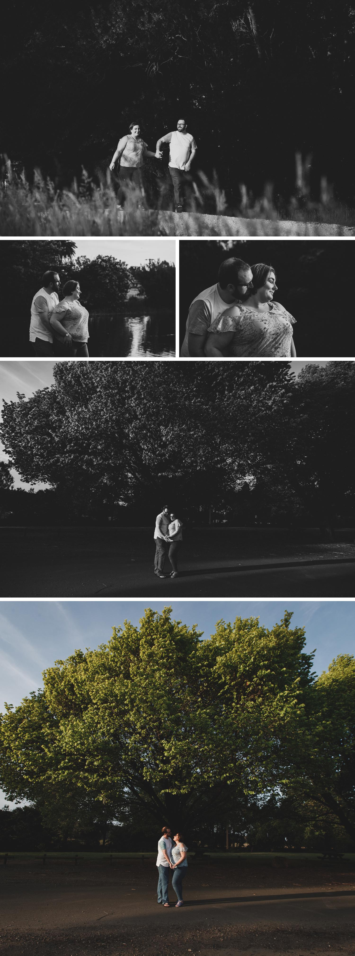 Pre-wedding e-shoot engagement session photography by traralgon photographer danae studios