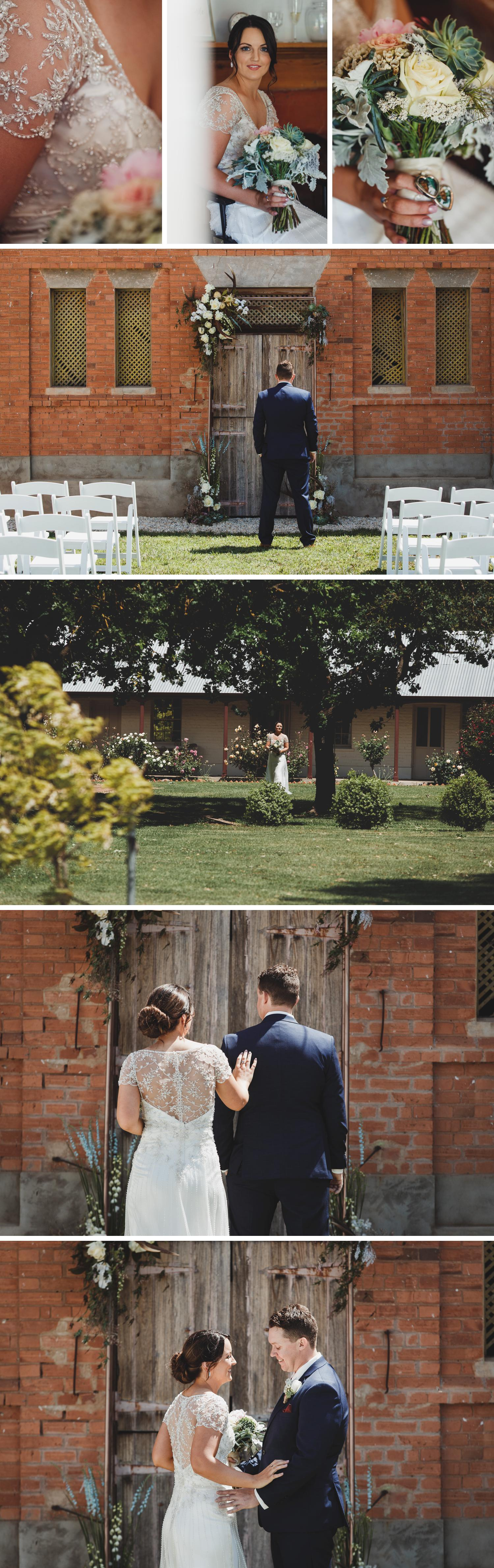 Mewburn Park Clear Marquee Farm Wedding by Gippsland Photographer Danae Studios